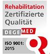 Degemed Qualitätszertifikat für die MEDIAN Klinik Grünheide