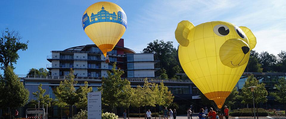 Ballone in der MEDIAN Klinik Bad Colberg