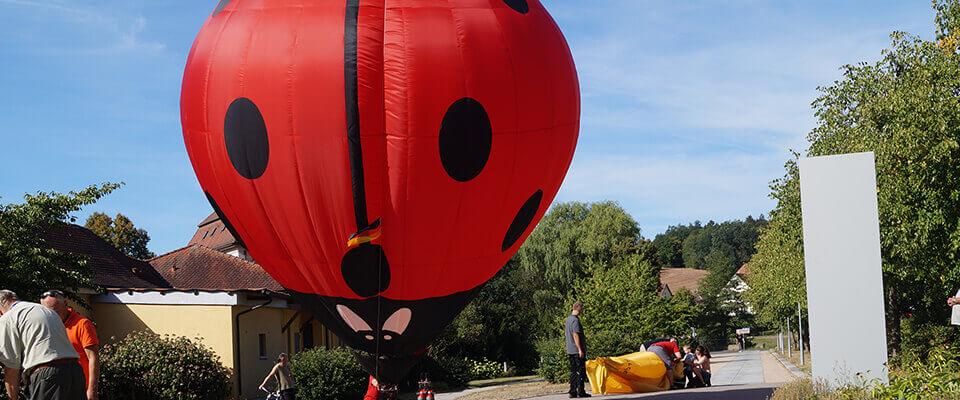 Ballon in der MEDIAN Klinik Bad Colberg