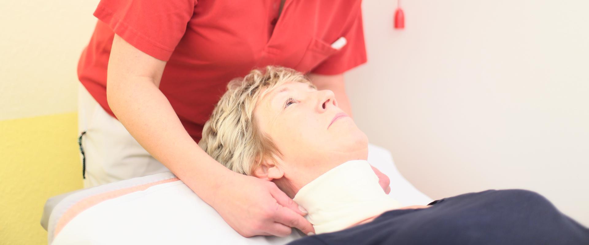 Patientin wird behandelt in der MEDIAN Klinik Kalbe