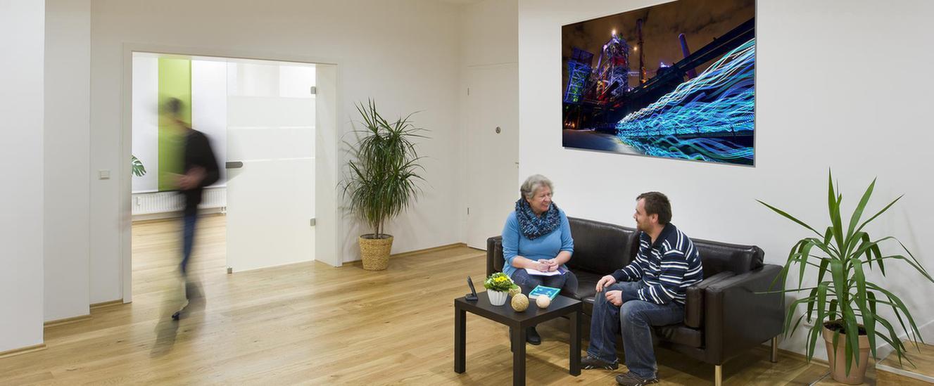 Anmeldung im MEDIAN Therapiezentrum Haus Werth