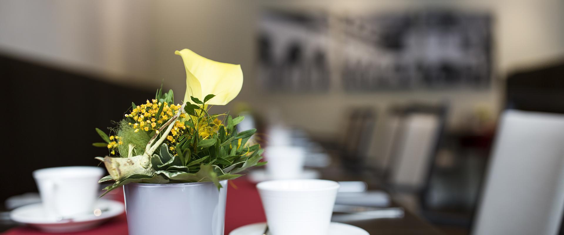 MEDIAN Klinik Leben und Wohnen Blumenschmuck