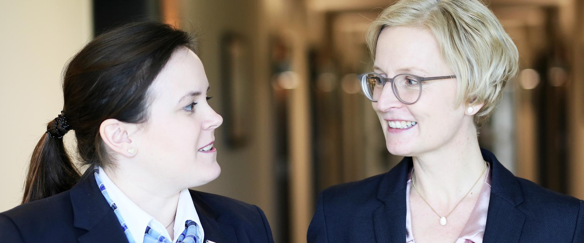 Mitarbeiterinnen der MEDIAN Parkklinik Bad Rothenfelde