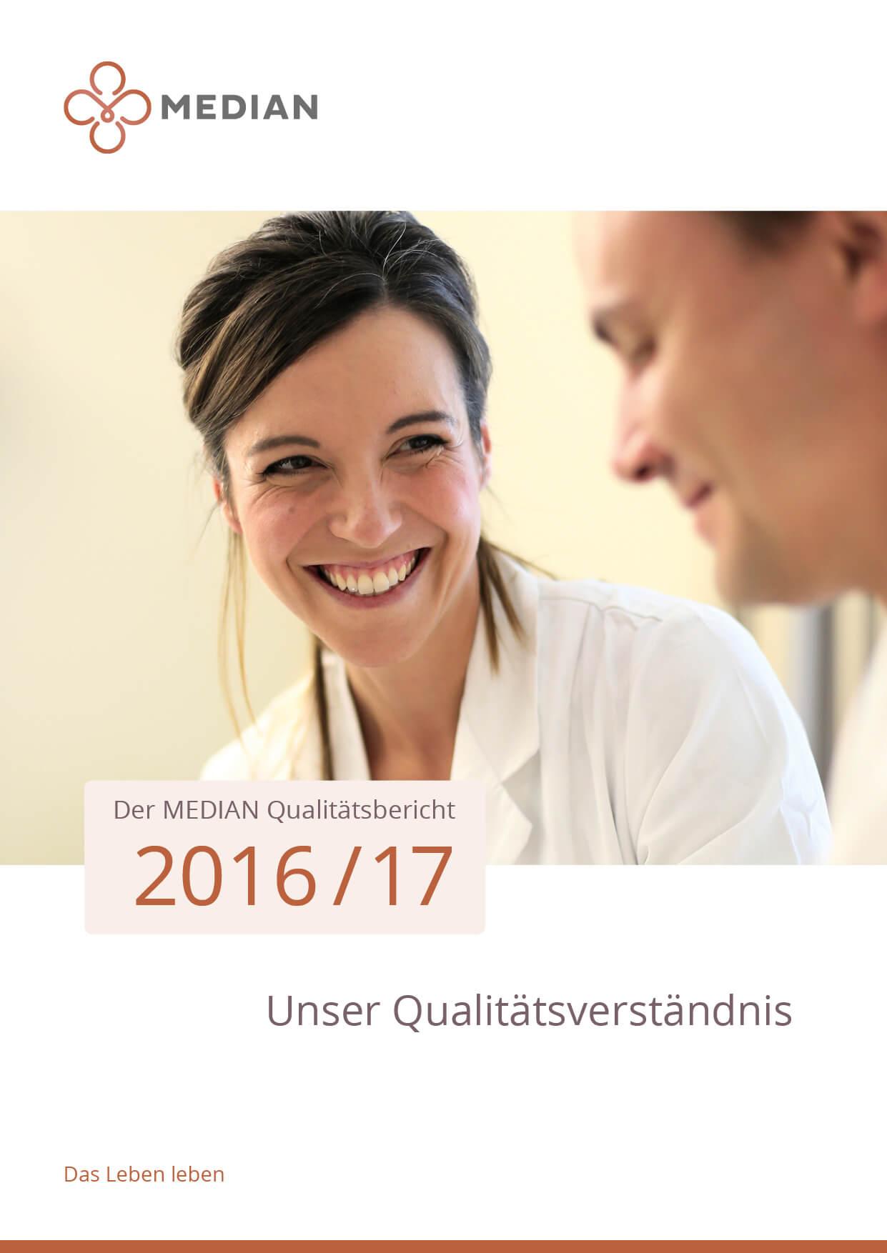 MEDIAN Qualitätsbericht 2016/2017 der MEDIAN Kliniken Daten und Qualitätsbericht