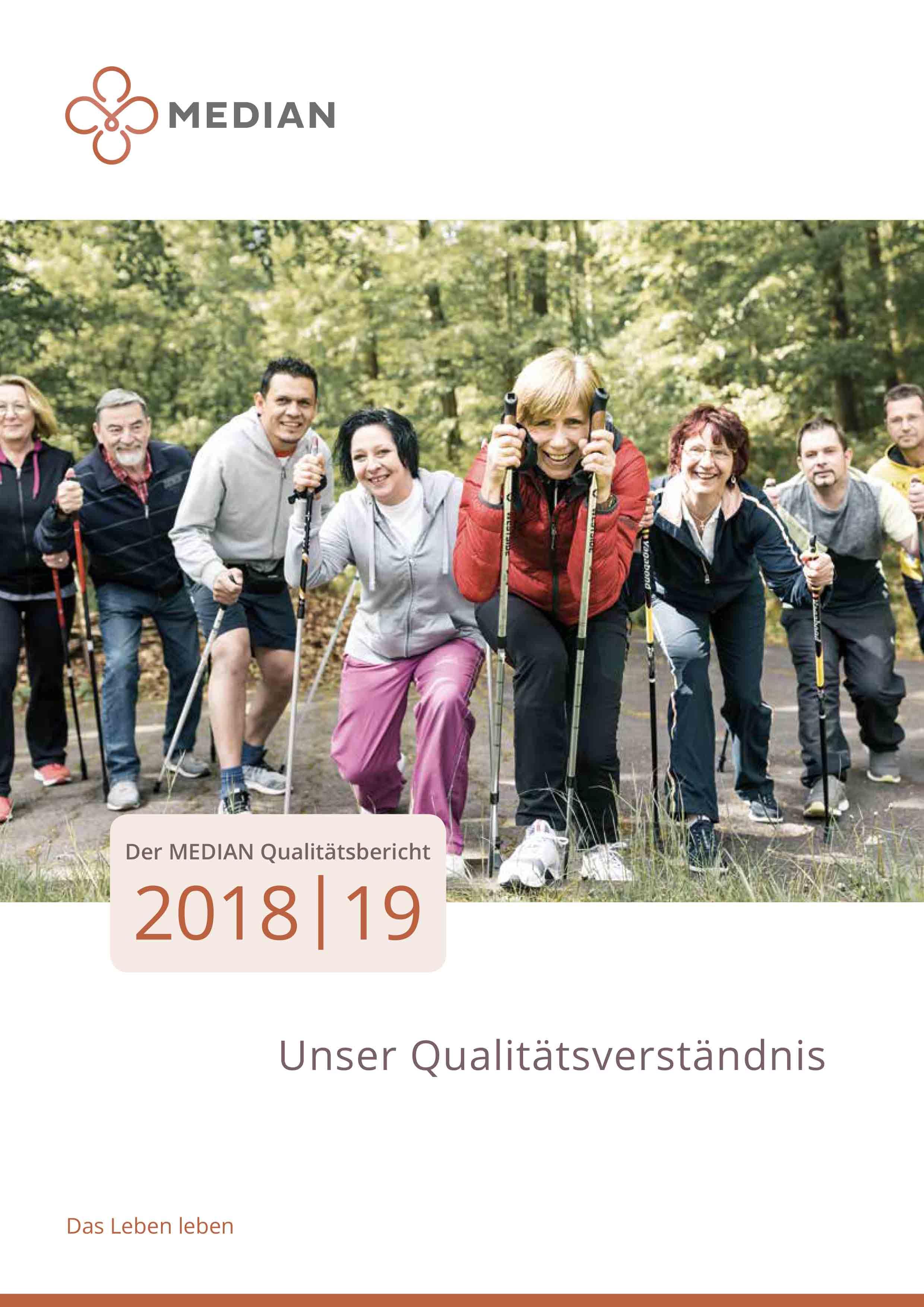 MEDIAN Qualitätsbericht 2018/2019 der MEDIAN Kliniken